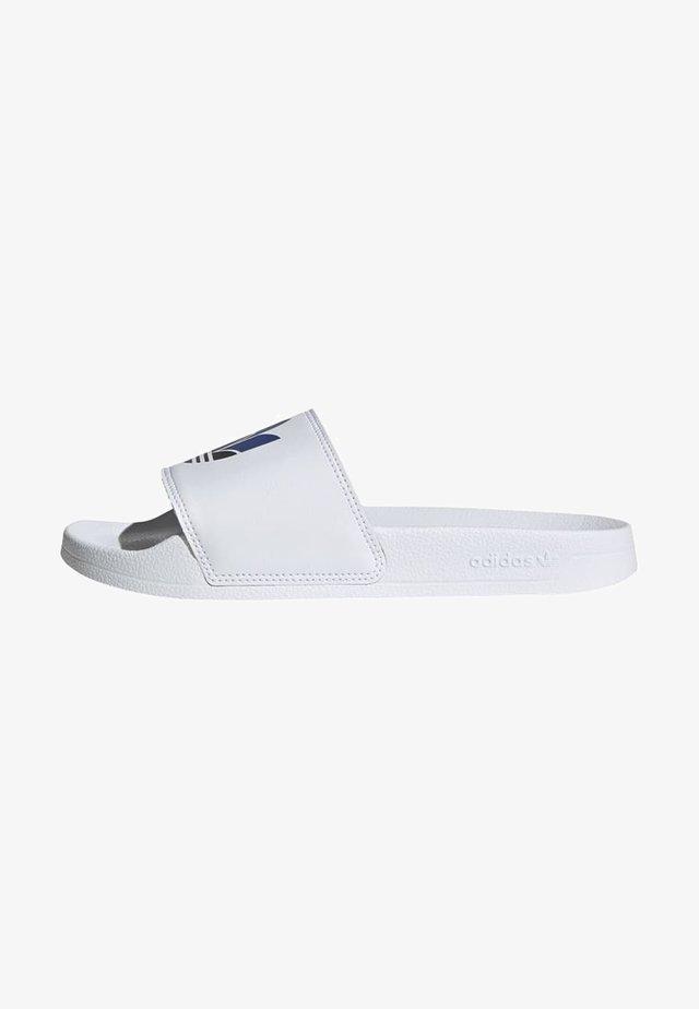 ADILETTE SPORTS INSPIRED SLIDES - Pantofle - ftwwht/cblack/royblu