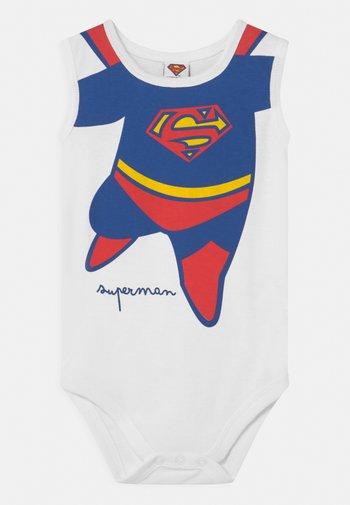SINGOLO SUPERMAN - Body - white/blue