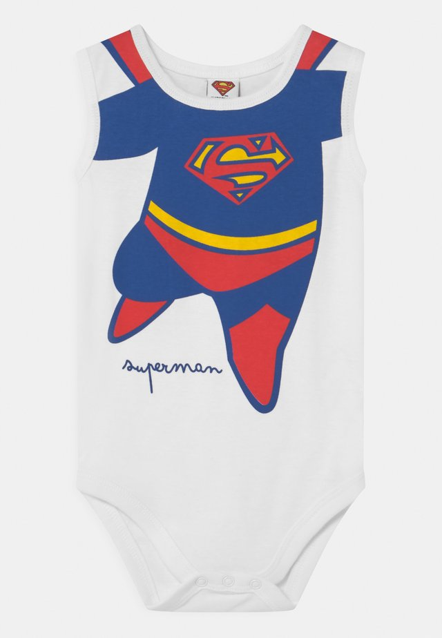 SINGOLO SUPERMAN - Body - white/blue