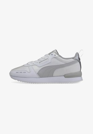 Trainers - white-gray -puma silver