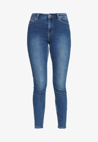 PIECES Tall - PCKAMELIA ANKLE - Jeansy Skinny Fit - medium blue denim - 4