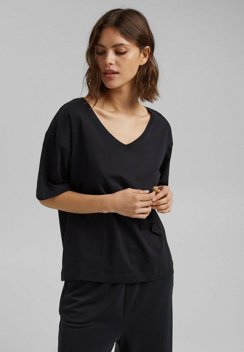 Esprit - Basic T-shirt - black
