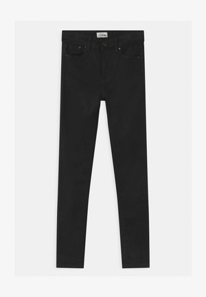 PIXLETTE HIGH - Jeans Skinny Fit - black denim