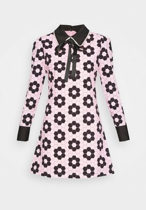 EXCLUSIVE RABBIT DRESS - Day dress - pink