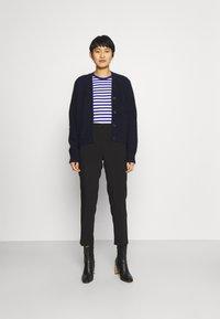 Anna Field - BASIC BUSINESS PANT SLIM LEG - Trousers - black - 1