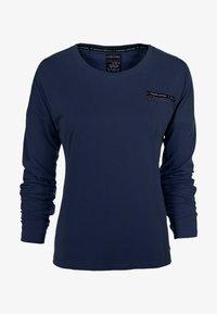 S'questo - Long sleeved top - dunkelblau - 0