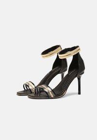 River Island Wide Fit - Sandals - black - 2