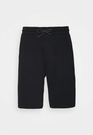 TERRY SHORTS - Shorts - black