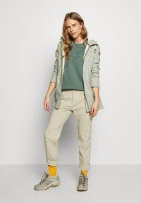 Icepeak - AURAY - Zip-up hoodie - antique green - 1