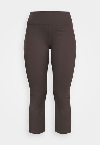 ACTIVE KICK FLARE - Tracksuit bottoms - peppercorn