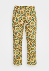 Jaded London - SUNFLOWER TAPESTRY WOVEN SKATE - Trousers - green/yellow - 3