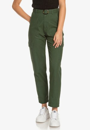 SENSE YOURSELF - Cargo trousers - cilantro
