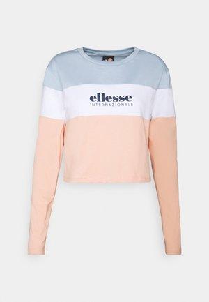 BLOCK - Bluzka z długim rękawem - light pink