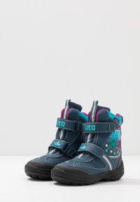 LICO - STERN V BLINKY - Winter boots - marine/pink/türkis - 2