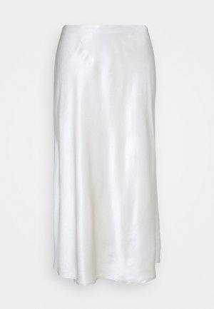 ODILE - A-line skirt - soft stone
