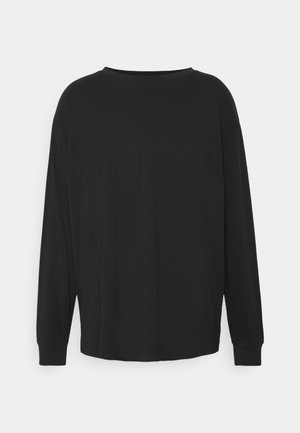 UNISEX REGULAR FIT - Long sleeved top - black