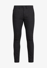 Jack & Jones - JJIMARCO JJCHARLES CHECK  - Kalhoty - black