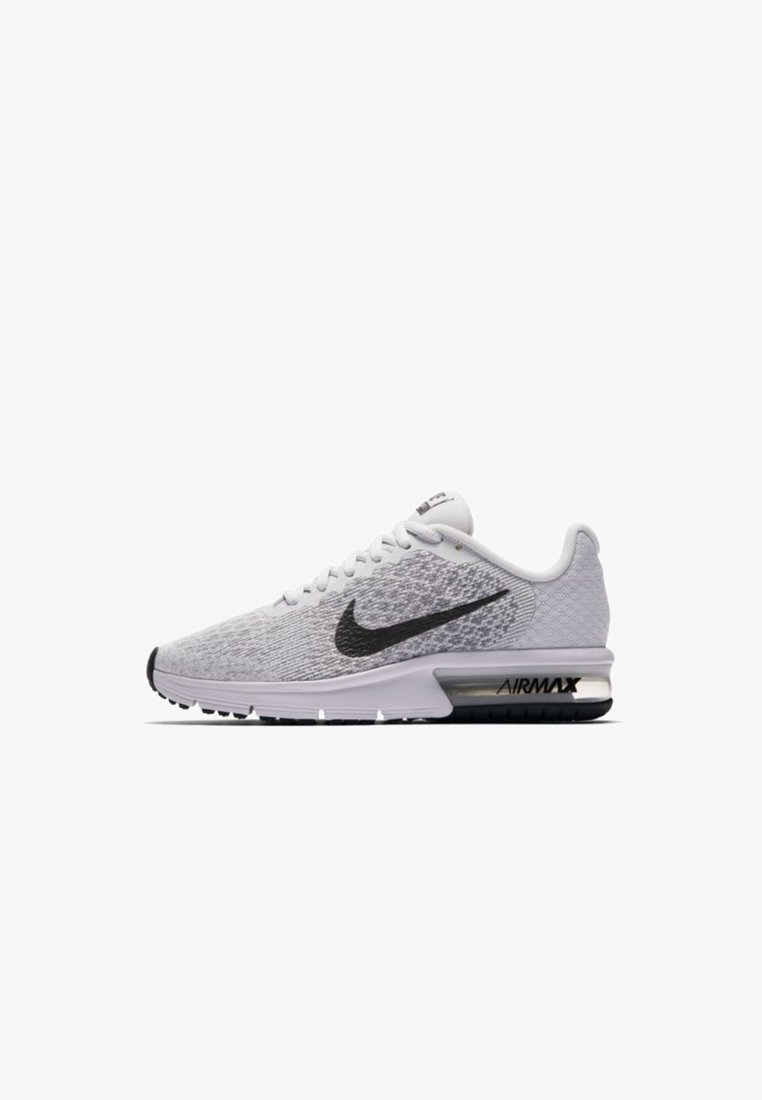 Desviar vendedor agujas del reloj  Nike Performance AIR MAX SEQUENT 2 - Neutral running shoes - pure  platinum/cool grey/black/off-white - Zalando.co.uk