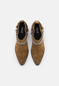 YAS - Ankle boots - biscuit - 5