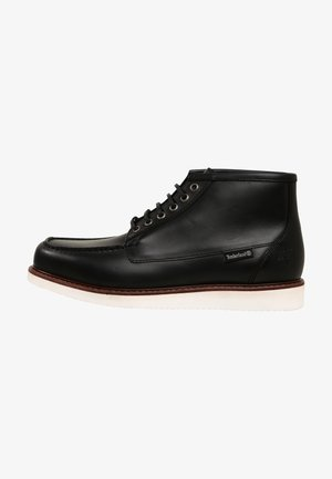 NEWMARKET  - Lace-up ankle boots - black full grain