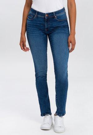 ANYA - Slim fit jeans - dark blue washed