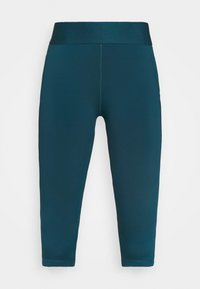 adidas Performance - CAPRI - 3/4 sports trousers - teal - 3