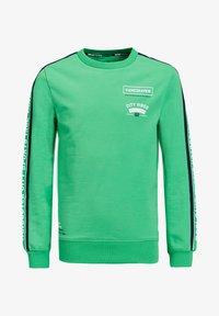 WE Fashion - TAPEDEATIL - Sweatshirt - bright green - 0
