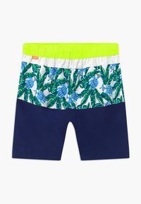Sunuva - TEEN BOYS TROPICAL PALM  - Swimming shorts - navy - 1