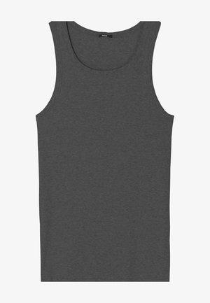 AUS FEINRIPP - Undershirt - dark grey mel
