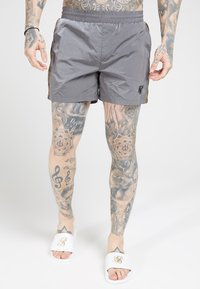 SIKSILK - CRUSHED TAPE - Shorts - grey & gold - 0