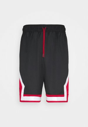 JUMPMAN DIAMOND SHORT - kurze Sporthose - black/gym red/white