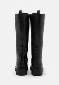 Tamaris - BOOTS - Botas con cordones - black - 3