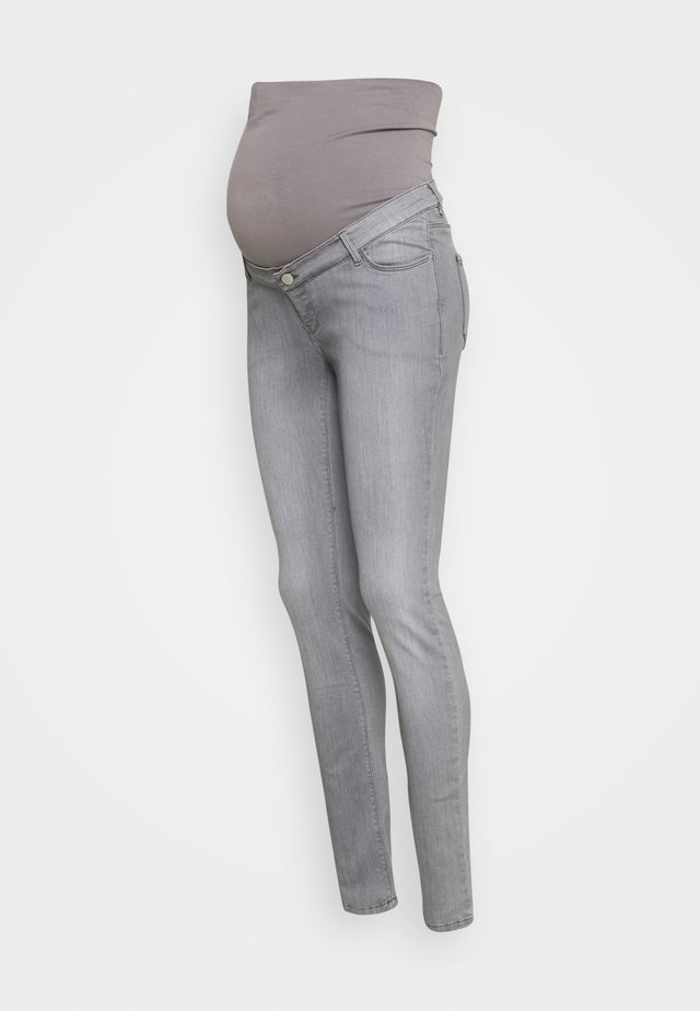 PANTS - Jeans Skinny Fit - grey denim