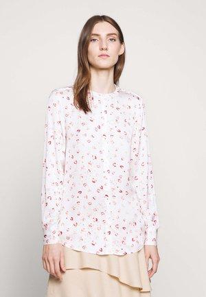 SANNI - Blouse - white/pink