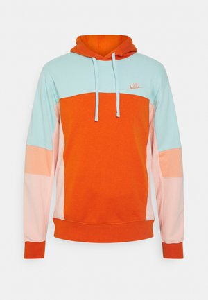 HOODIE  - Sweater - light dew/campfire orange/apricot agate/arctic orange