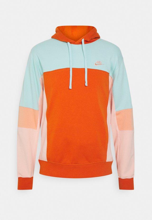 HOODIE  - Sweatshirt - light dew/campfire orange/apricot agate/arctic orange