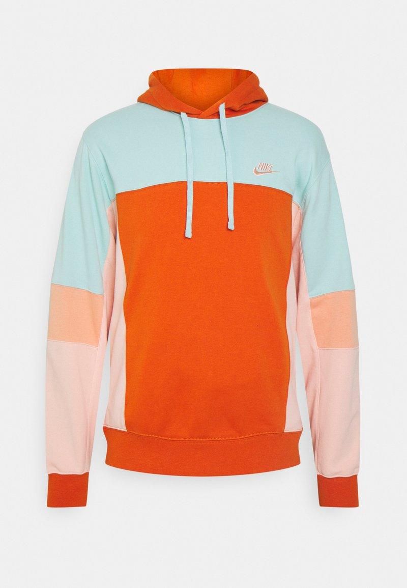Nike Sportswear - HOODIE  - Sweatshirt - light dew/campfire orange/apricot agate/arctic orange