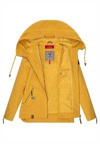 Navahoo - Light jacket - yellow mustard dots - 2