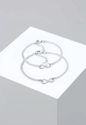 SET - Armband - silver-coloured