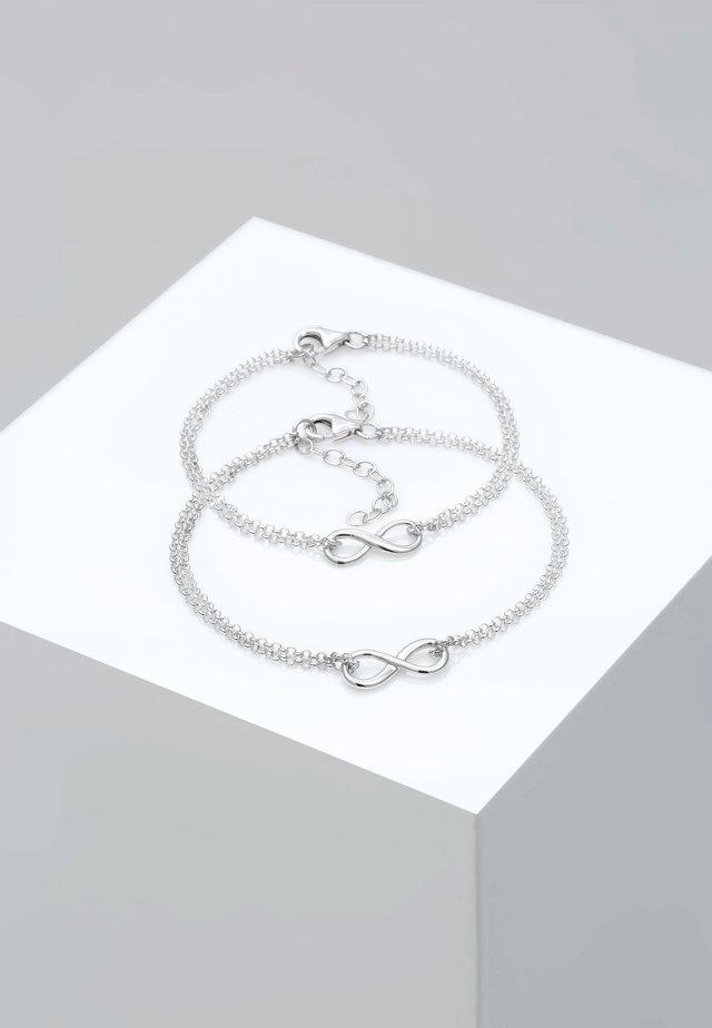SET - Rannekoru - silver-coloured
