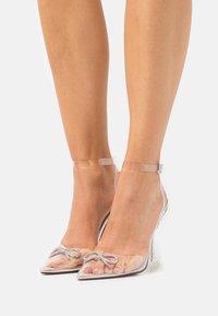 BEBO - VENESA - Classic heels - silver - 0