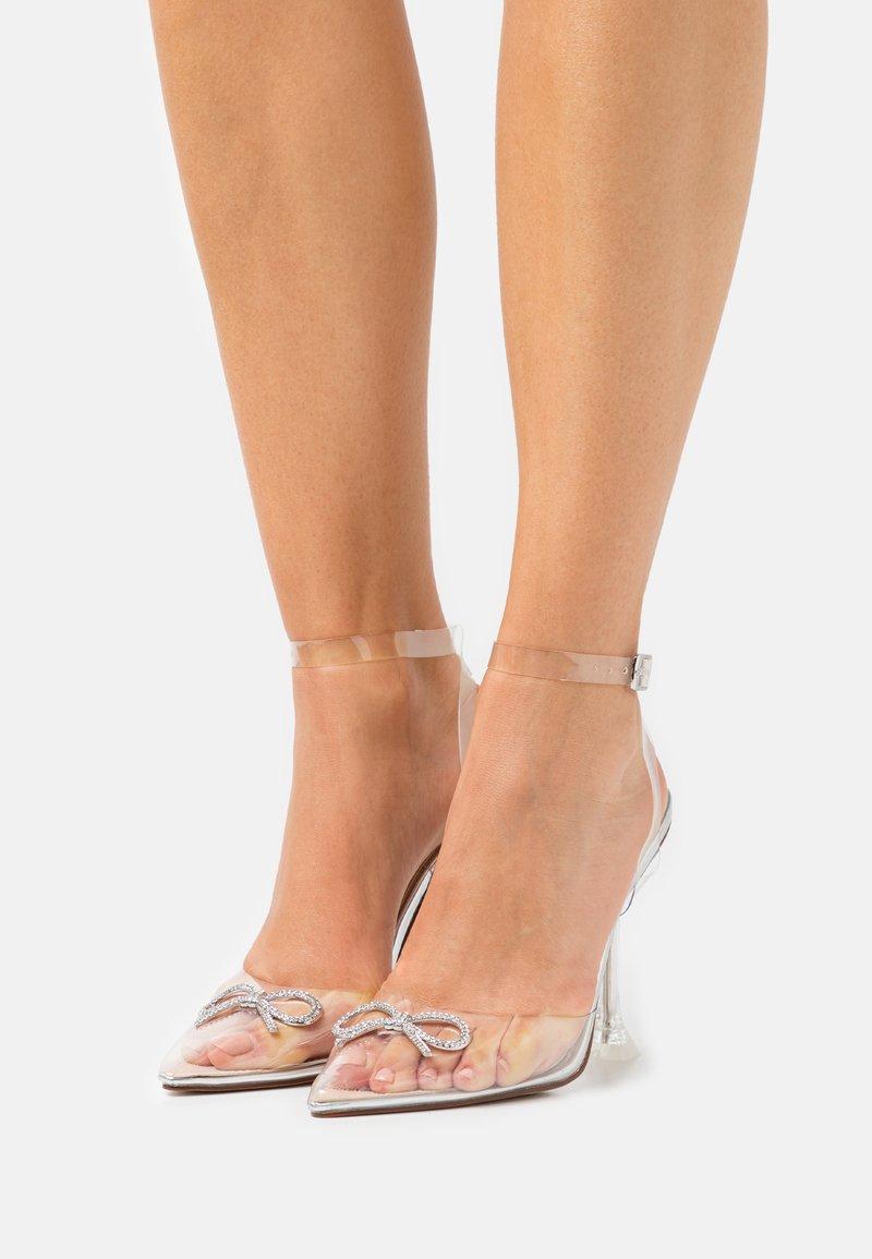 BEBO - VENESA - Classic heels - silver