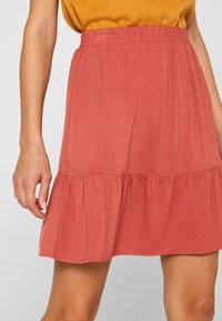 edc by Esprit - A-line skirt - terracotta - 3