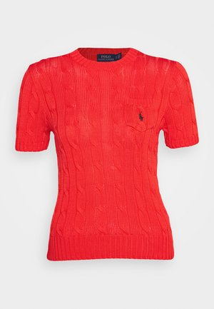 TEE SHORT SLEEVE  - Jednoduché triko - african red