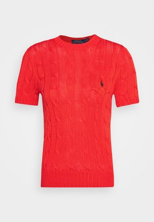 TEE SHORT SLEEVE  - Camiseta básica - african red