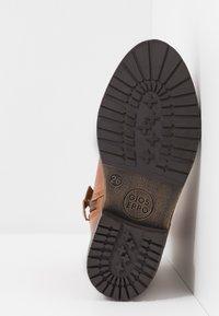 Gioseppo - Cowboy/biker ankle boot - tan - 5
