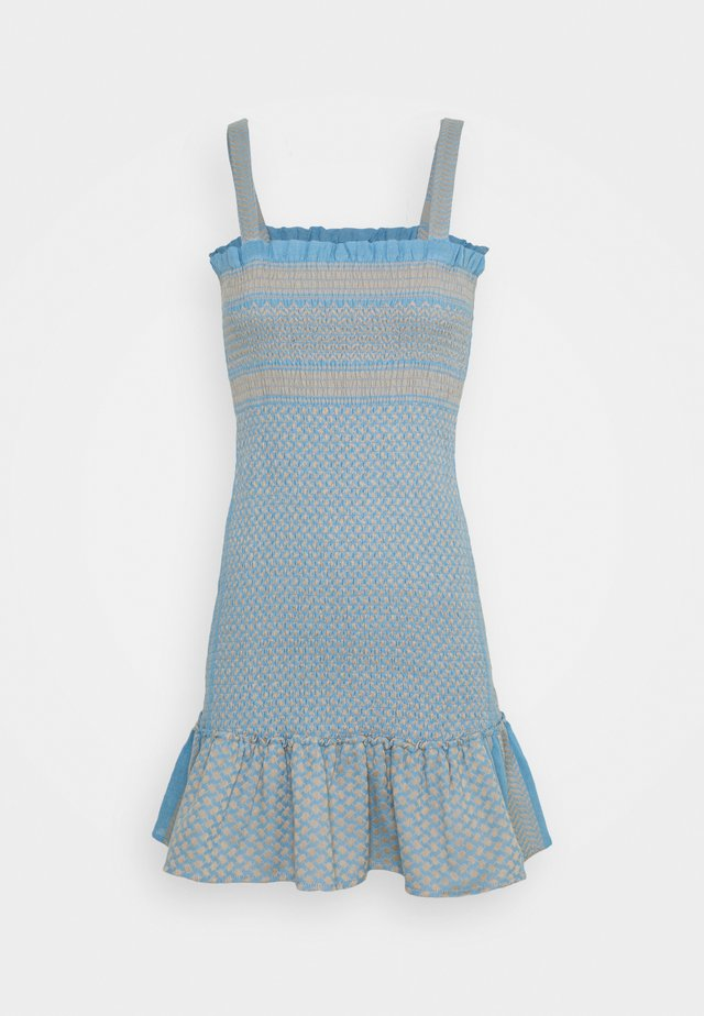 JUDITH - Robe pull - blue
