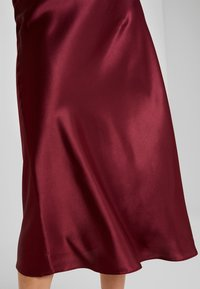 New Look - BIAS CUT MIDI SKIRT - Maxi skirt - burgundy - 4