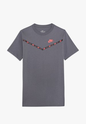 TEE CHEVRON - T-shirt con stampa - dark grey