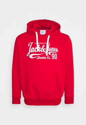 JJHEROS HOOD - Bluza z kapturem - true red